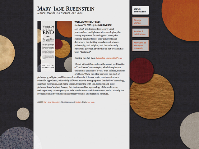 Mary-Jane Rubenstein