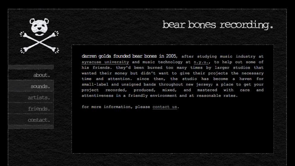 BearBones-screenshot